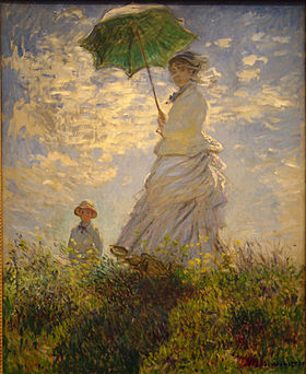 Monet, la promenade
