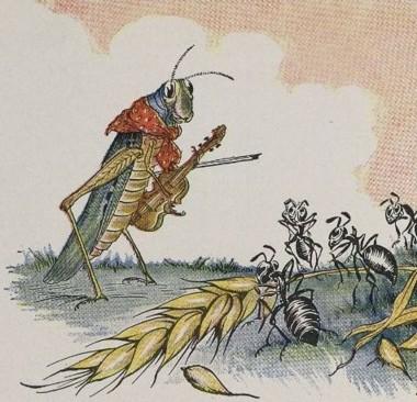 La cigale et la fourmi, les réécritures