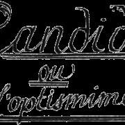 Candide ou l optismime
